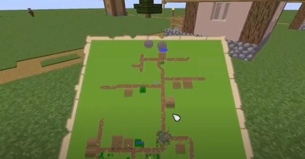 карта в майнкрафт