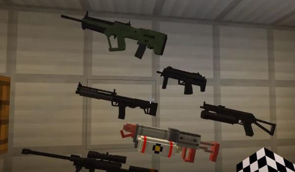 сделать лучший пистолет в майнкрафт