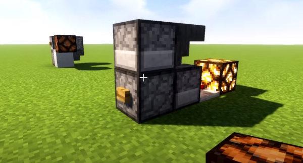 сделать рычаг или кнопку в Minecraft