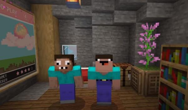 Minecraft с другом по сети